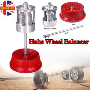 Wheel Balancer Portable Tyre Hubs Heavy Duty Car Truck Rim Bubble Level Durable