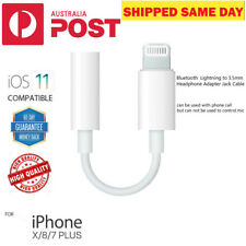 Apple iPhone 7 8 X Plus bluetooth Lightning 3.5mm Jack Headphone Adapter Cable