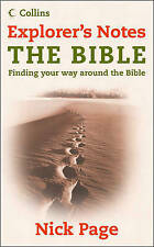 Explorer's Notes: The Bible by Nick Page (Paperback, 2006)