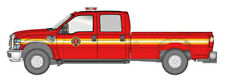 HO River Point Station Red Fire Dept. SRW Crew CAB 1/87 Scale Truck