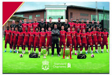 """Liverpool Team Photo 2019 - 2020 Poster Official Licensed 24x36"""" 