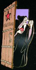 DISNEY VILLAIN OLD HAG DRESSING ROOM DOOR LIMIT EDITION 1000 DISNEY AUCTION PIN