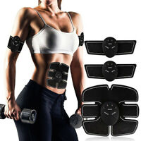 1Set Rechargeable Smart Abs Stimulator Fitness Gear Muscle Abdominal Trainer MC