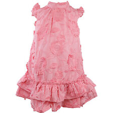 Janie And Jack Embroidered Floral Tiered Dress Special Occasion