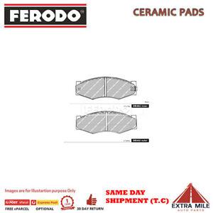 FERODO TQ BRAKE PADS FRONT for NISSAN SKYLINE #R31 1987-1989 2.0L 6cyl DB382FTQ