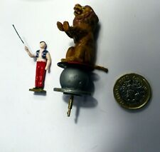 Lion act figures for 1/43 or 1/50 scale model circus