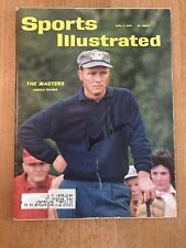 Arnold Palmer Signed Masters Sports Illustrated Magazine 5/2/1962 JSA Authentic