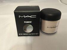 MAC *WHITE GOLD* Pigment EyeShadow EyeShadow .26oz/7.5g BNIB