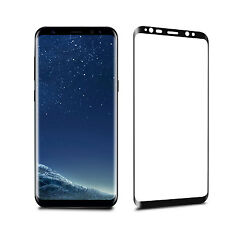 For Samsung Galaxy S8+ Plus - Full Curved Tempered Glass Screen Protection Black