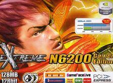 ASUS EN6200GE/TD/128M/A GEFORCE 6200 128MB DDR PCIE-X16 VIDEO CARD - NEW!
