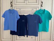 Vineyard Vines Classic Pique Polo Boys Whale T-Shirts Large Size 16  LOT