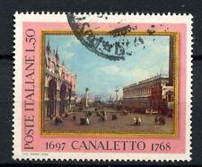 ITALIA 1968 SG # 1230 Canaletto dipinto USATO #A 40344