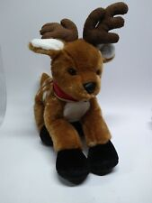 "2003 17"" Build-A-Bear BAB Limited Edition Holiday Reindeer Plush Stuffed Animal"