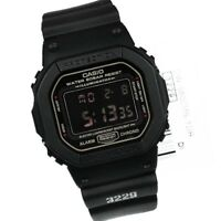 NEW* CASIO MENS G SHOCK SQUARE BLACK WATCH DW5600MS-1 RRP £129