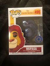 Funko Pop Disney espíritu rey león mufasa Pop en una caja exclusiva rara!