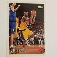 1996-97 Topps #138 Kobe Bryant Los Angeles Lakers RC Rookie