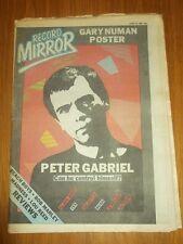 RECORD MIRROR JUNE 14 1980 GARY NUMAN BEACH BOYS BOB MARLEY MADNESS SELECTER YES