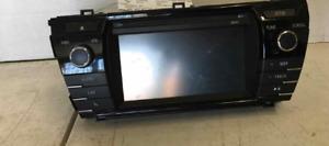 2014-2016 Toyota Corolla Touchscreen Display & Receiver 100149 OEM 14 15 16