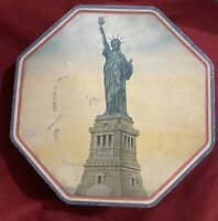 Vintage Statue Of Liberty Loose-Wiles Biscuit Co. Tin New York