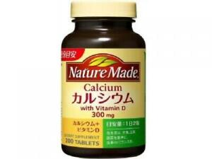☀Otsuka Nature Made Calcium 200 tablets (about 100 days)From Japan F/S