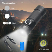 Mini L2 LED-Licht KeyChain Taschenlampe Schlüsselanhänger EDC Lampe 16340 Fackel