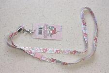 Sanrio My Melody Neck Strap Lanyard Key Chain Holder Kawaii Japan F/S