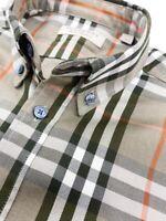 Vintage Burberry Long Sleeve Nova Check Shirt Size Medium ( M)