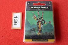 Warhammer 40k Eldar Harlequins Shadowseer Resin Figure GW Army Dark Figure OOP