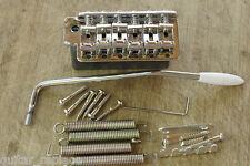 Puente Stratocaster Espaciado Cuerdas 11.3 Cromado Bloque Acero Strato Bridge