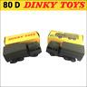 Dinky Toys 80D - deux camions militaire BERLIET tous terrains d'origine