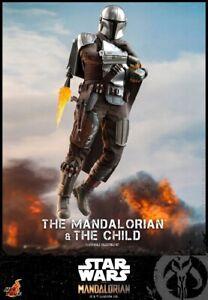 Hot Toys 1/6 TMS014 Star Wars The Mandalorian & The Child figure HT Model Presal