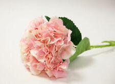 Hortensias artificielles et séchées de décoration intérieure en soie