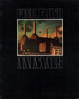 PINK FLOYD 1977 ANIMALS U.S. TOUR CONCERT PROGRAM BOOK DAVID GILMOUR / EX 2 NMT