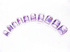 100x Aquarium Tips mit Nagelspitzen Transparent im Tipbox + 1 Glitter Gratis!!!