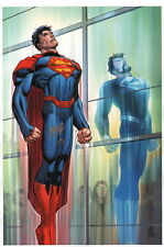 John Romita Jr. SIGNED DC Comics Super Hero Art Print ~ Superman Man of Steel