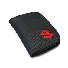 New - Suzuki Genuine Casual Accessory - Textile Wallet - Black