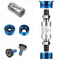 EE_ 68MM BIKE BICYCLE BOTTOM CENTRAL BRACKET AXIS SCREWS SQUARE TAPER MTB ROAD S
