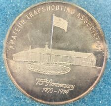 1975 Amateur Trapshooting Association Grand American 75th Anniversary ~ Silver