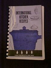 International Kitchen Recipes, Ladue Chapter A.F.S. Cookbook MO
