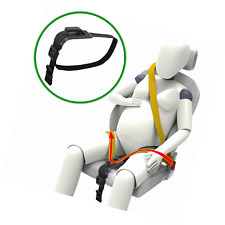Zuwit Bump Belt, Maternity Car Seat Belt Adjuster, Comfort & Safety (Black)