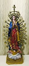 OUR LADY OF GUADALUPE VIRGIN MARY STATUE MADONNA CHAPEL CATHOLIC FIGURE MEXICO
