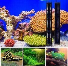 """24""""-48"""" Led Aquarium Light Bar Strip Full Spectrum Fish Tank Extendable 2 Modes"""