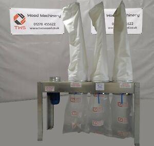 New Air Plants D4250 3 Bag dust  extraction unit *£2,450 Plus VAT*