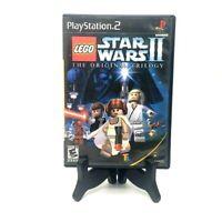 Lego Star Wars II The Saga Sony PlayStation 2 PS2 Tested Lucasarts 2006