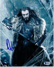 Richard Armitage signed 8x10 photo Beckett BAS Hobbit Star Wars Phantom Menace