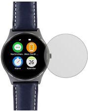 5x Schutzfolie für Uhr 44.5 mm Durchmesser Display Folie matt Displayschutzfolie