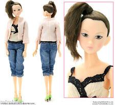 Japan Sekiguchi Momoko 27cm Girl Fashion Doll Smart Tweed  ~~ FREE Shipping ~~