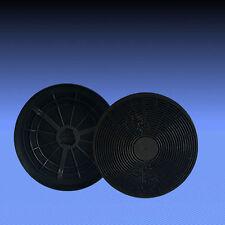 2 Aktivkohlefilter Kohle Filter für Neff DKA33 , DKA39 , D8902 STAINLESS STEEL