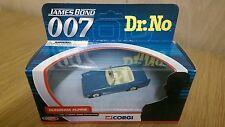 Corgi TY02501 diecast James Bond Dr No Sunbeam Alpine