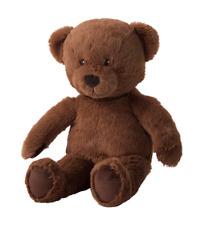 Ikea BRUNBJÖRN ( BRUNBJORN ) Soft Toy Teddy bear Brown 32cm ages from 18 months.